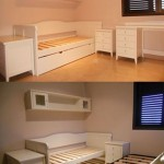 Dormitorio juvenil pino macizo lacado blanco