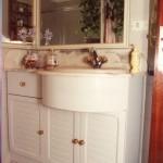 baño pino macizo lacado 2