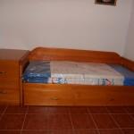 cama nido con cajonera pino macizo
