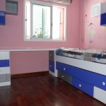 Dormitorio infantil modular pino macizo