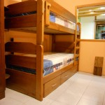 Cama litera pino macizo, desmontable, cajonera o tercera cama opcional