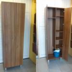 Escobero MDF plastificado imitación madera o blanco