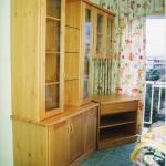 Librería modular pino natural