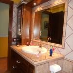 Mueble rústico para baño pino macizo